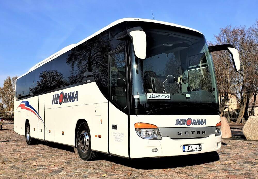 Setra 415 GT-HD autobusas nuomai