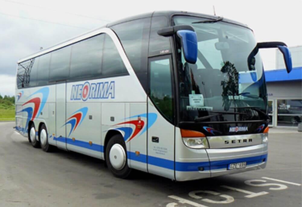 TOP klasės autobusas Setra 415HDH, autobuso nuoma