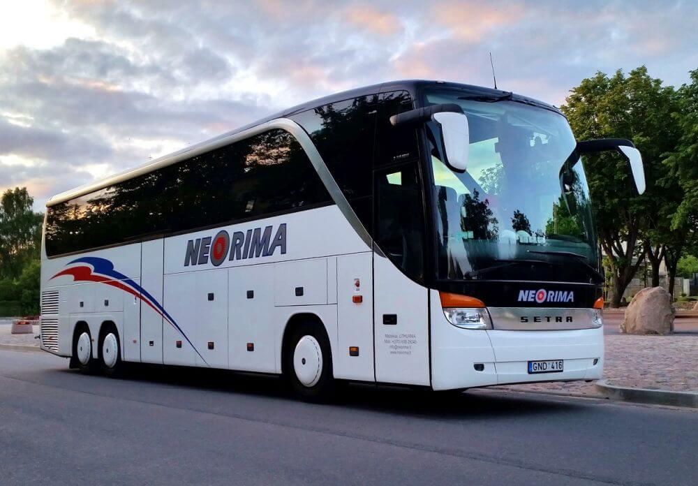 Prabangaus SETRA 416HDH autobuso nuoma