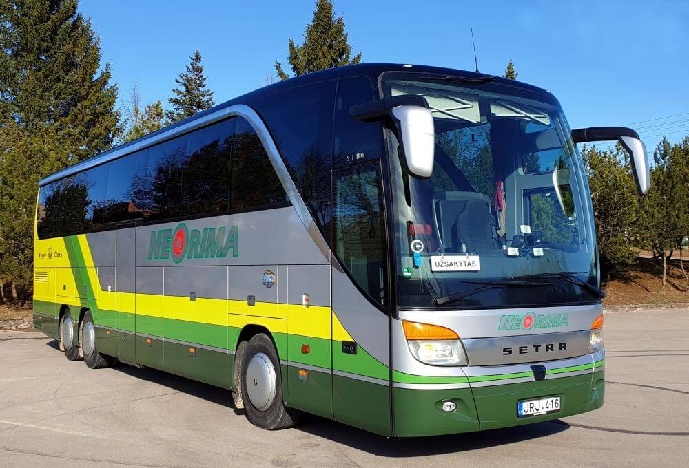 Setra 416HDH Royal klasės autobusas